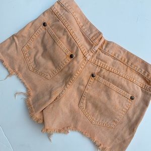 Free People Shorts - Free people distressed denim shorts sz 27